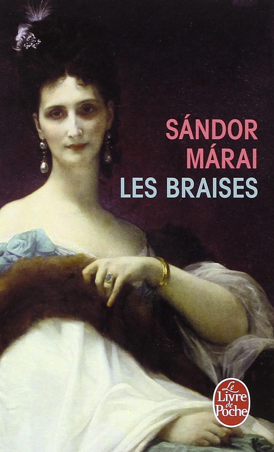 Les braises de Sandor-Marai, couverture
