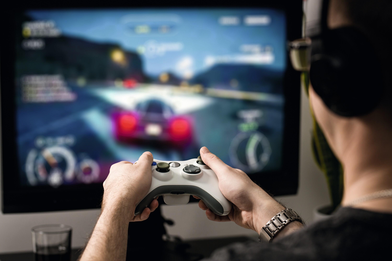 Une partie de jeu vidéo