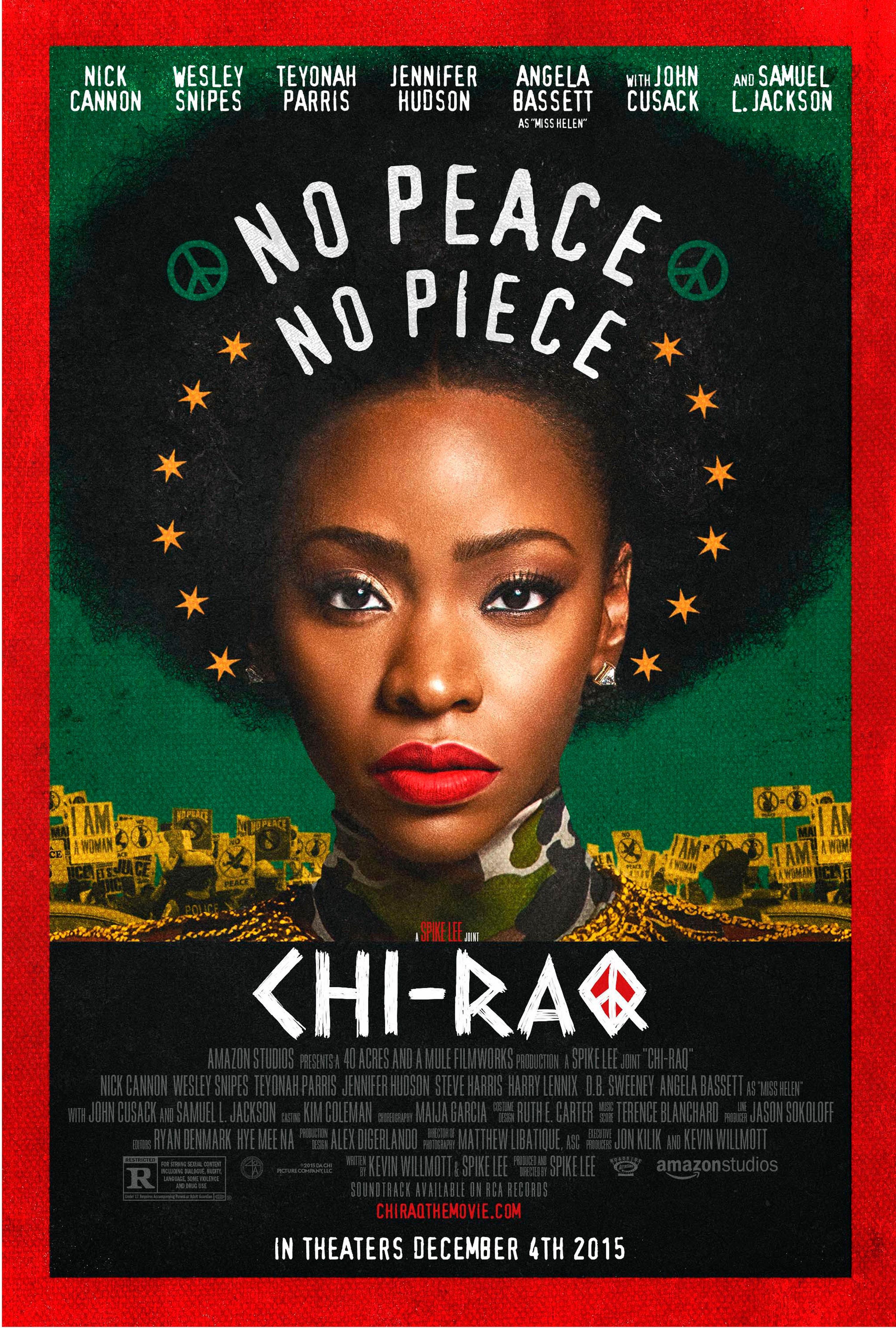 Affiche du film Chi-raq, réalisé par Spike Lee, 2015.