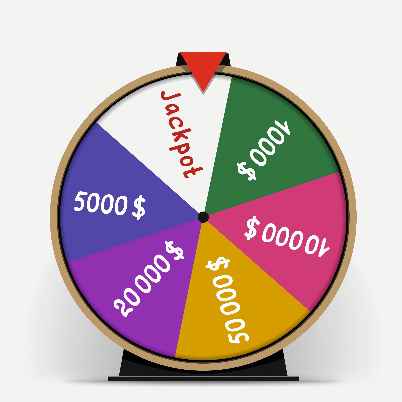 Roue - jackpot - Probabilités et échantillonnage