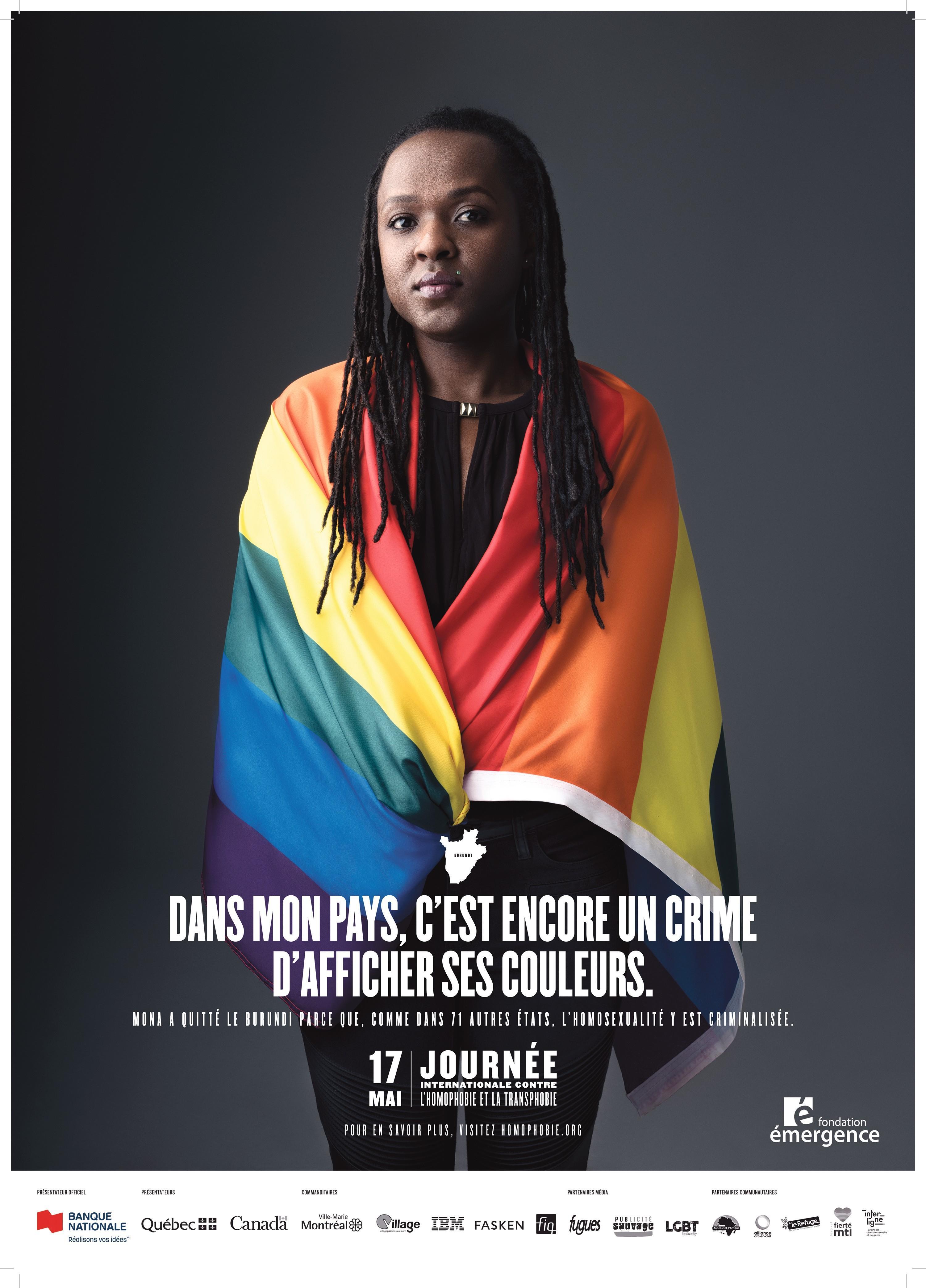 Affiche de la fondation Émergence, 2019.