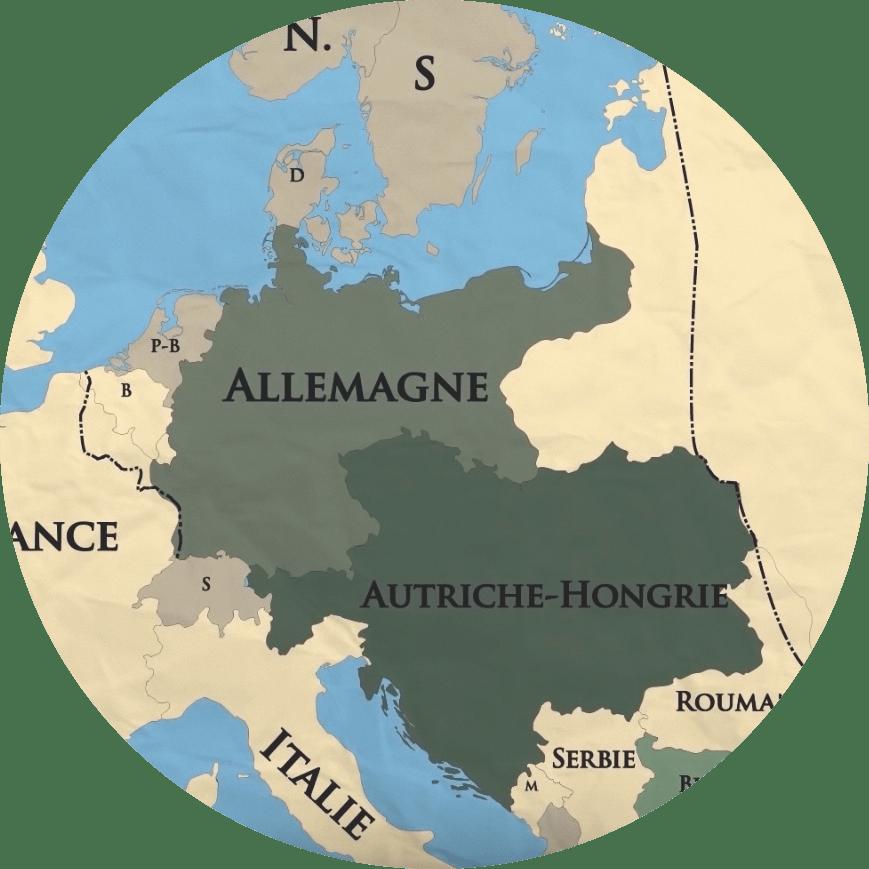 Les traités redessinent les frontières de l'Europe et du monde