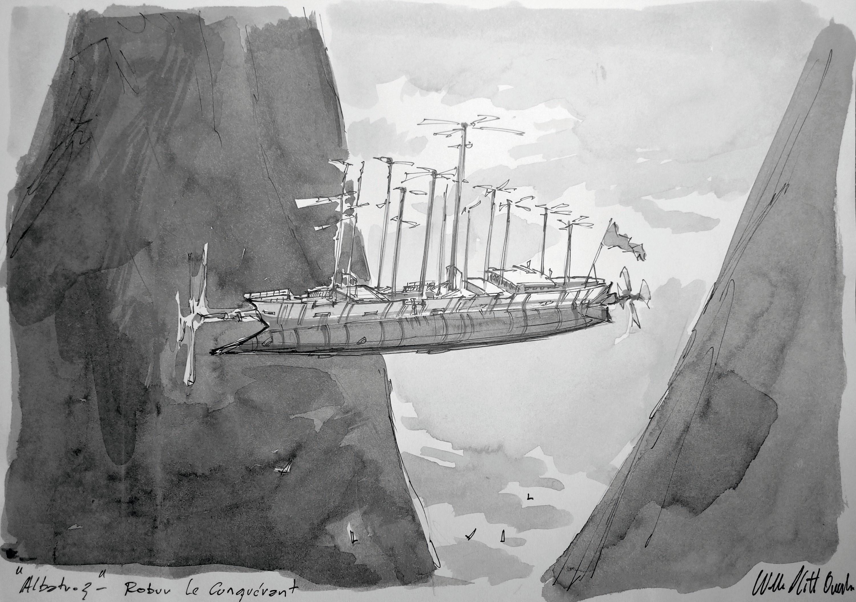 Walter Plitt Quintin, Albatros - Robur le Conquérant