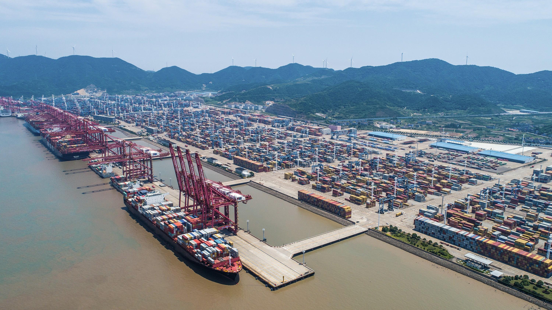 Ningbo-Zhoushan, le port de marchandises le plus actif au monde