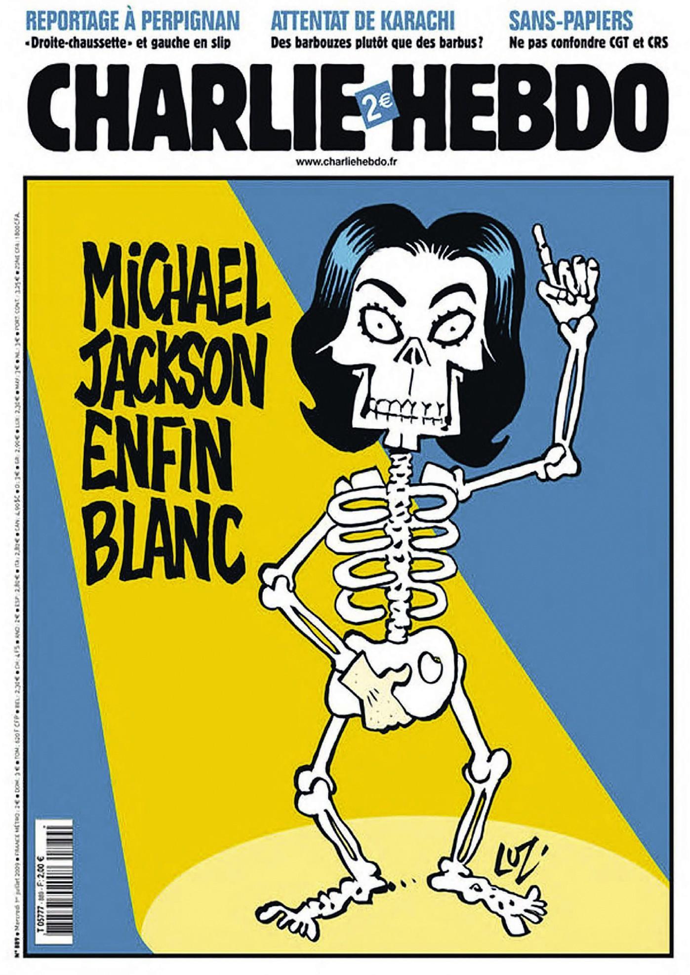 Luz, dessin, Charlie Hebdo, 1er juillet 2009.