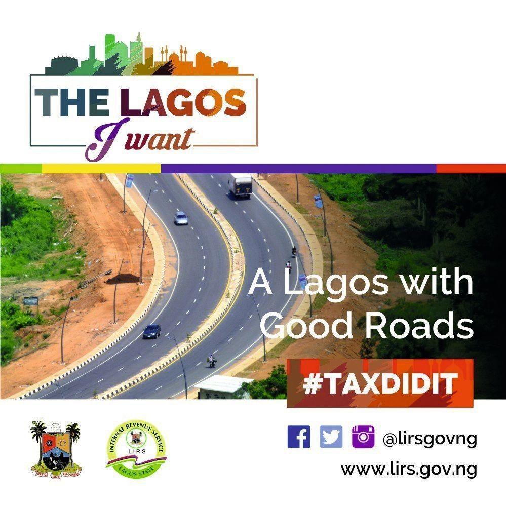 affiche #TaxDidIt Lagos