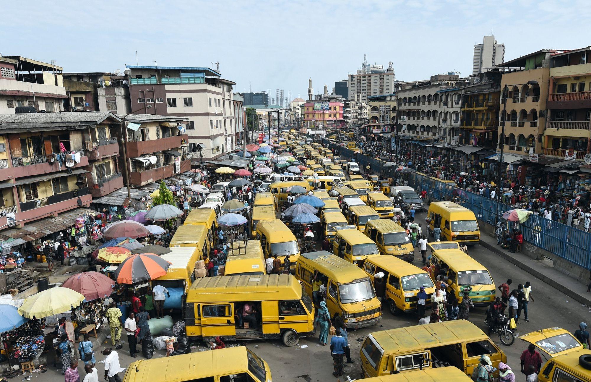 embouteillage Lagos