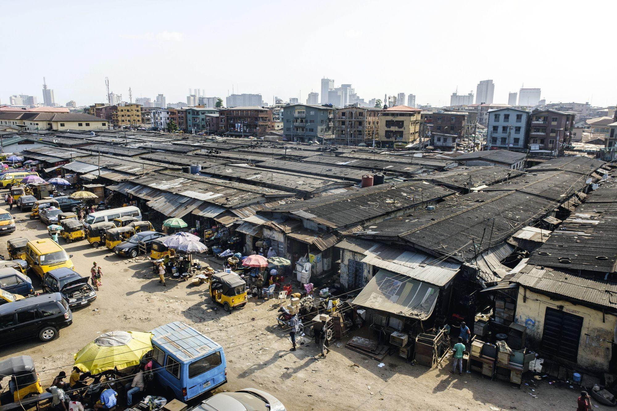 Lagos Une métropole marquée par de fortes inégalités