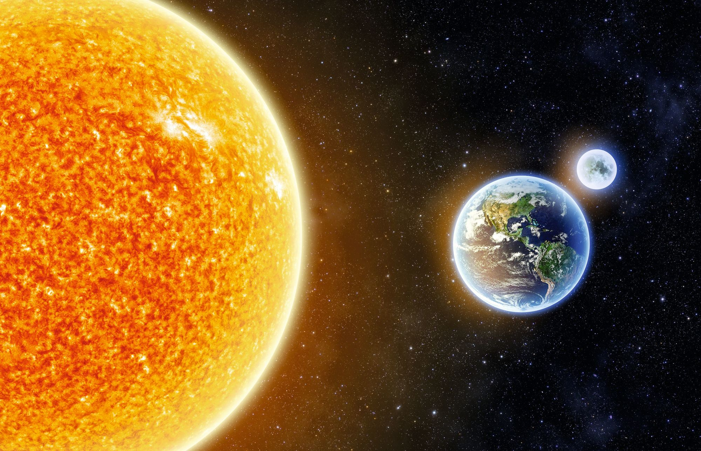 Terre, vue spatiale