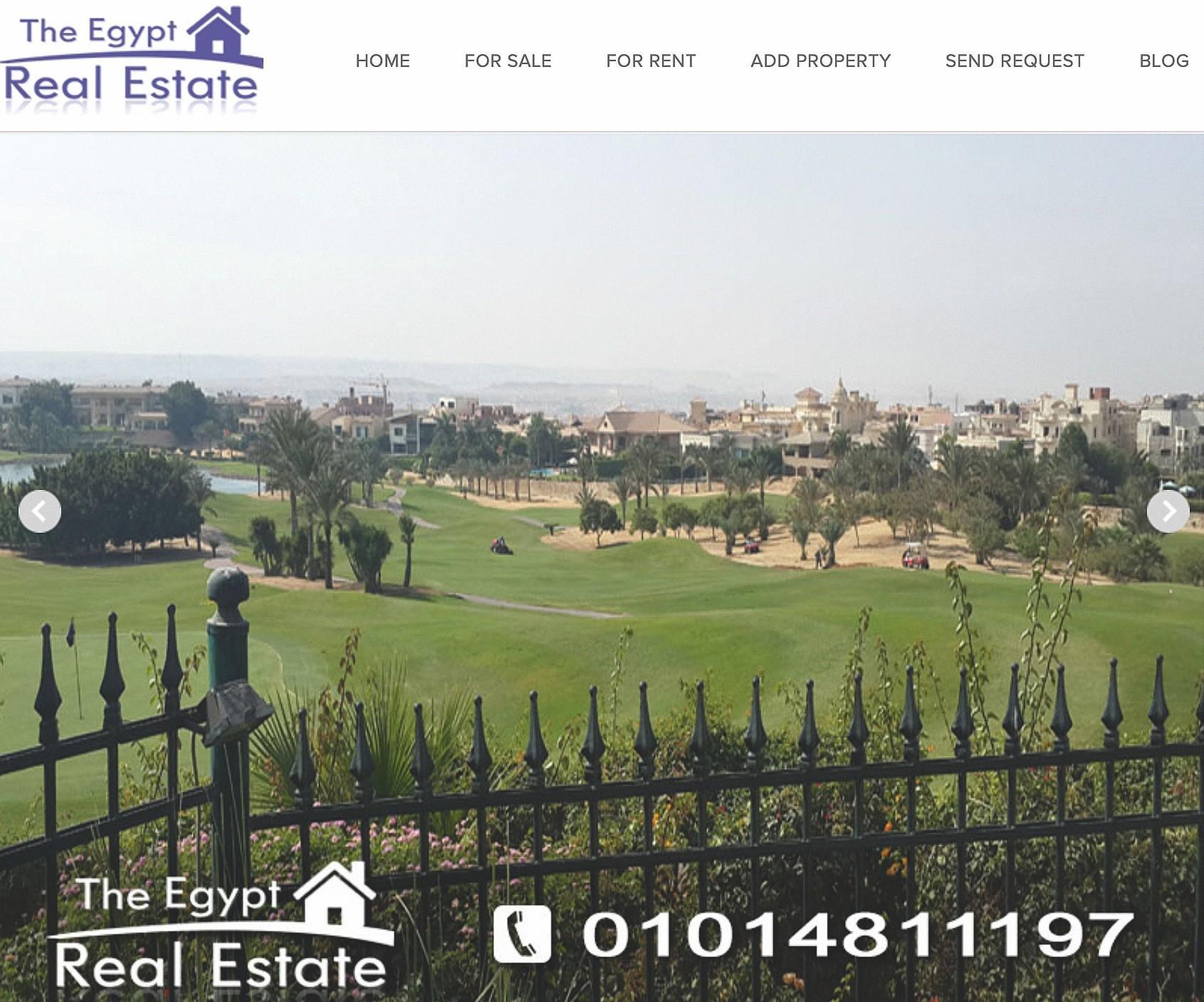 Publicité pour un quartier fermé du Caire