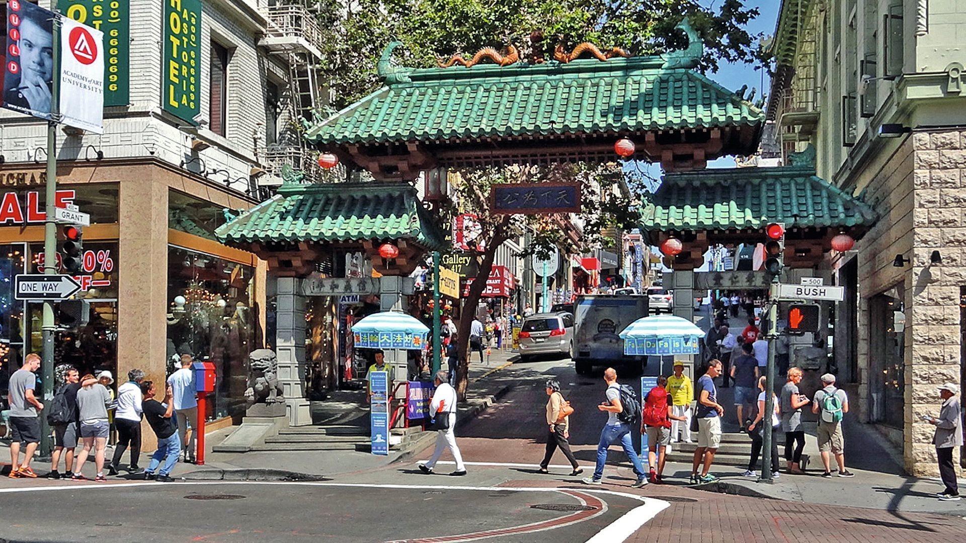 L'arche à l'entrée de la chinatown de San Francisco, un « must-have »