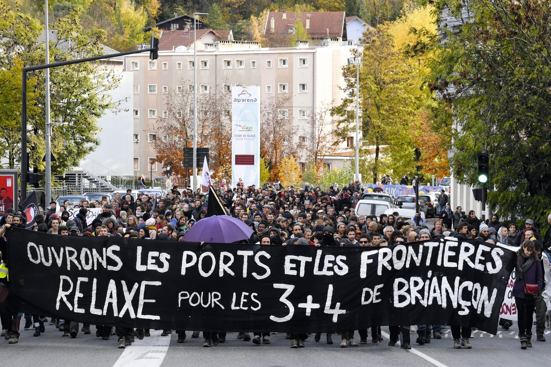 Manifestation à Gap, 8 novembre 2018.