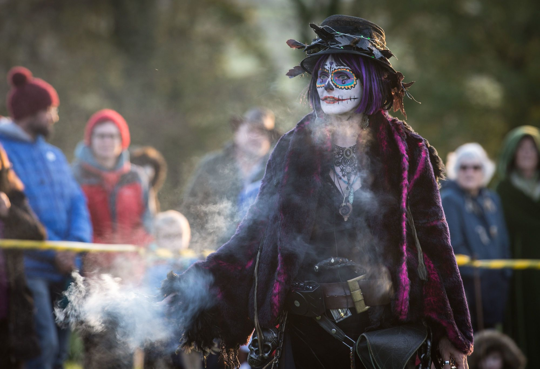 Glastonbury Samhain Festival, 2017.