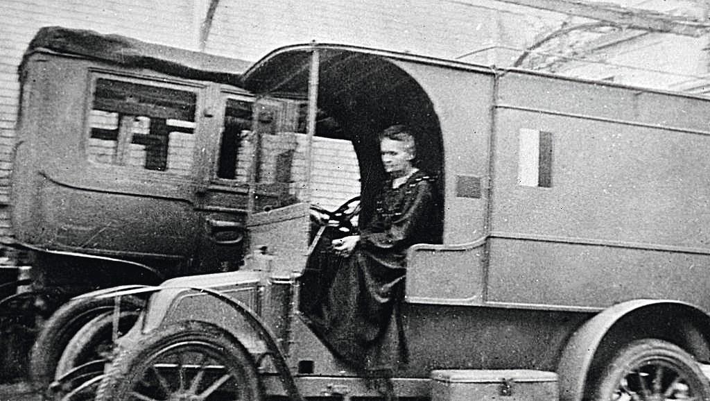 Marie Curie sur le front