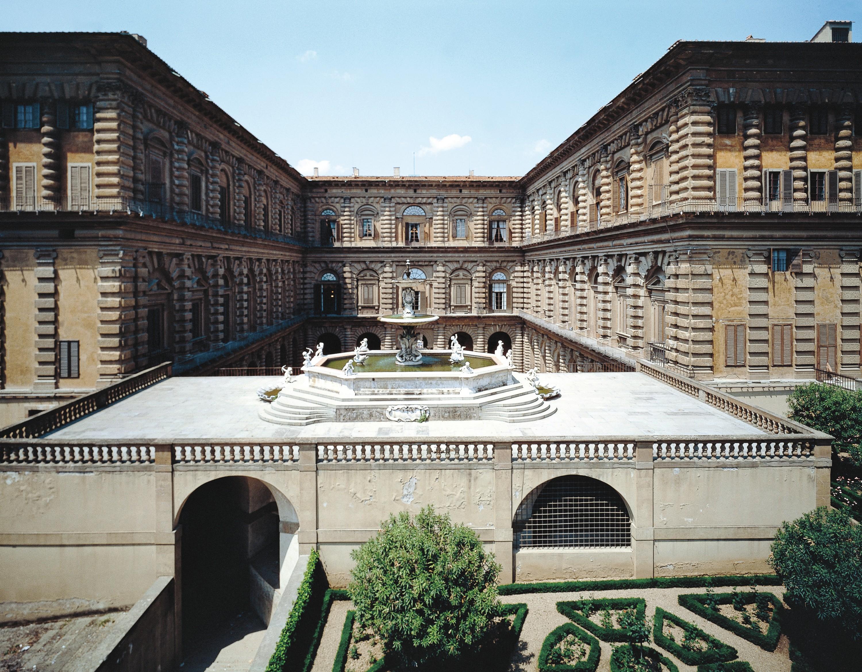 Fontaine du palai Pitti à Florence