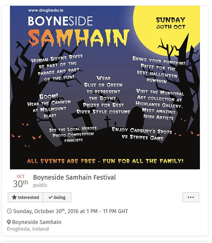 boyneside samhain festival
