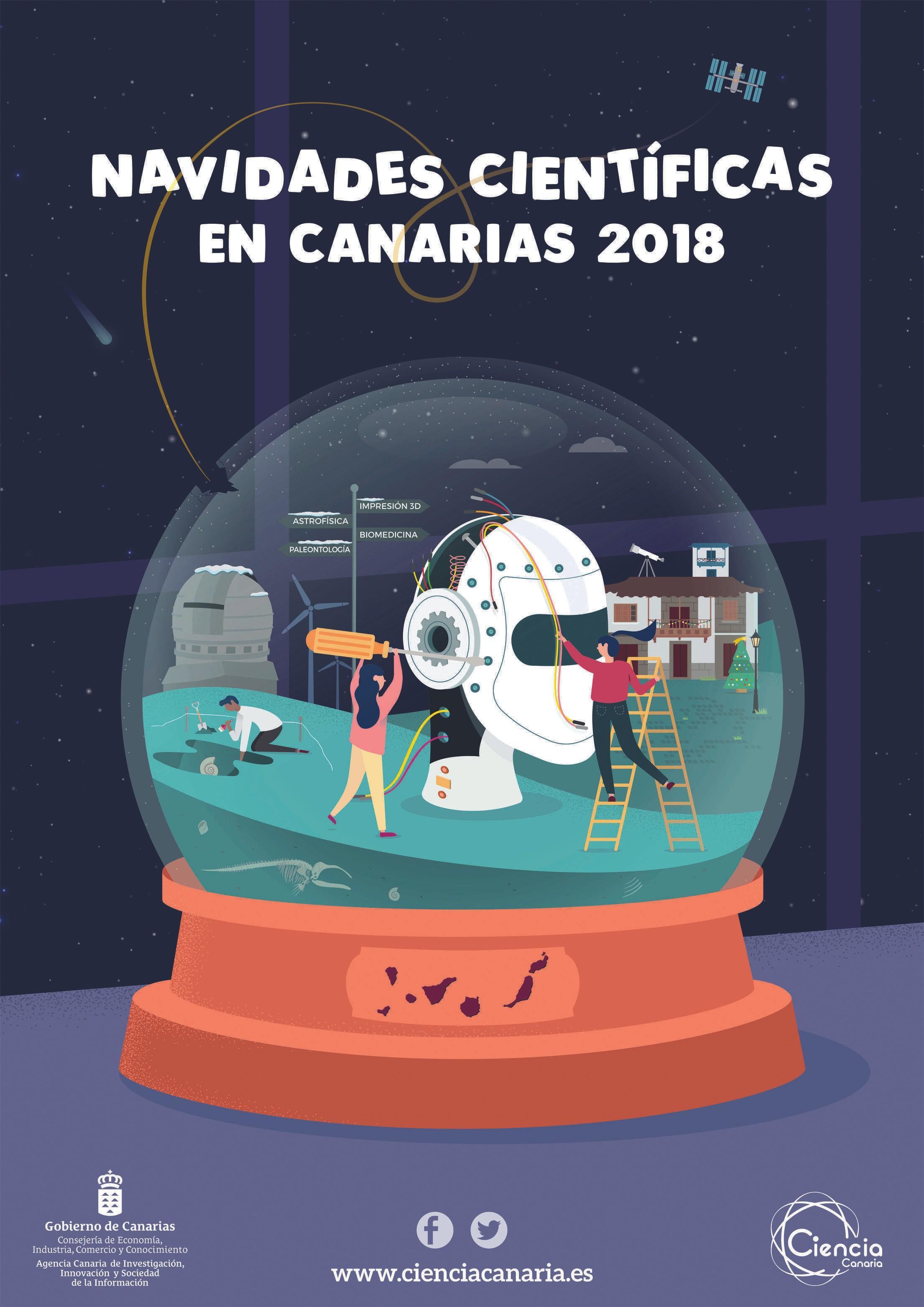 Navidades Científicas en Canarias 2018, Instituto Tecnológico de Canarias, 2018.