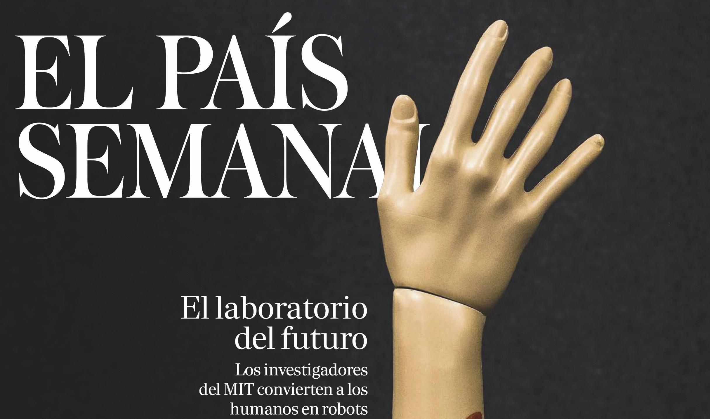 Paso 1, «Los investigadores del MIT convierten a los humanos en robots», El País Semanal, 2017.