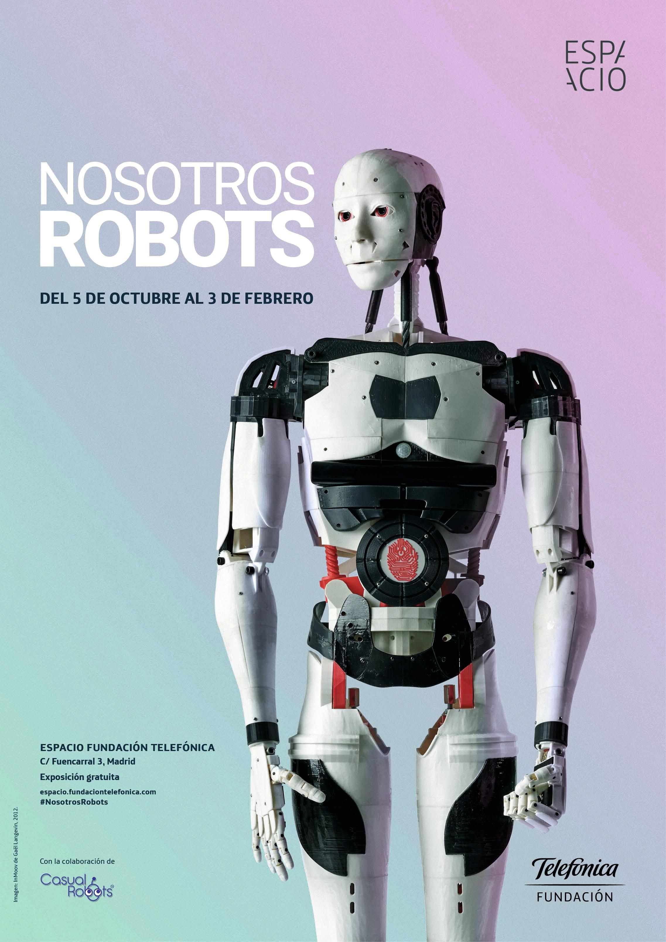 Exposición Nosotros robots, Fundación Telefónica, 2018.