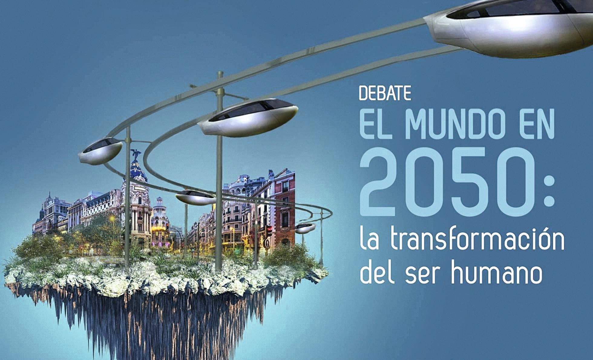 El mundo en 2050, Madrid, 2017.