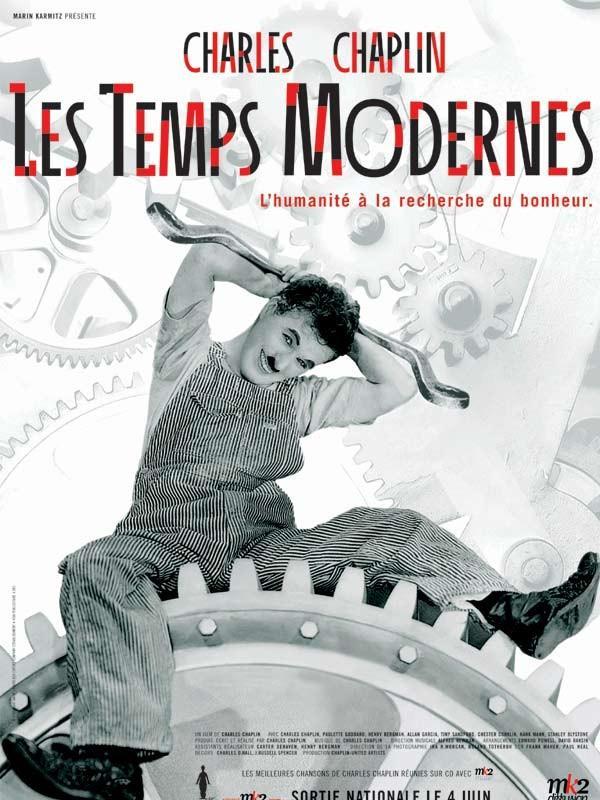 Charles Chaplin, Les Temps modernes, 1936.