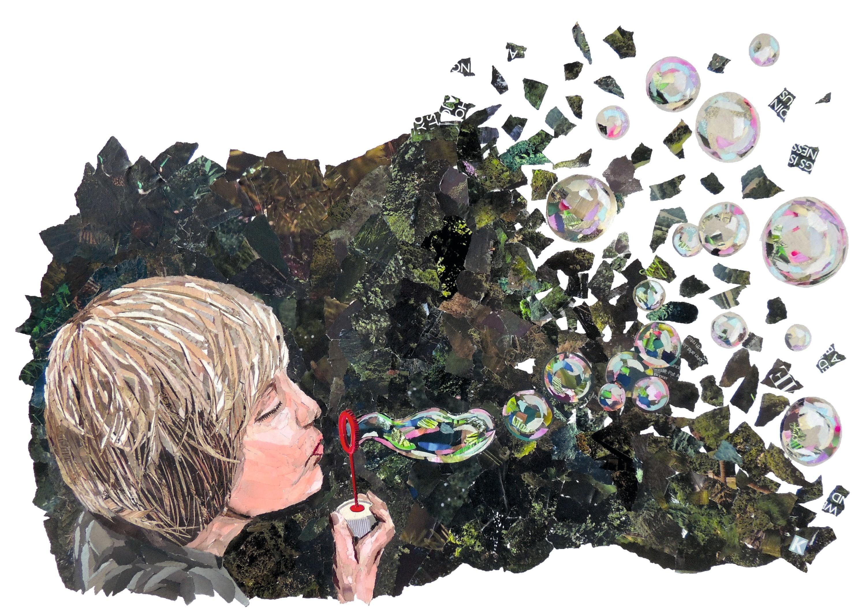 Bubbles, Kristie Adamson, 2018