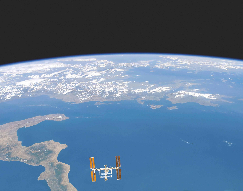 Image de la Terre prise par la navette spatiale Endeavour le 27 novembre 2007