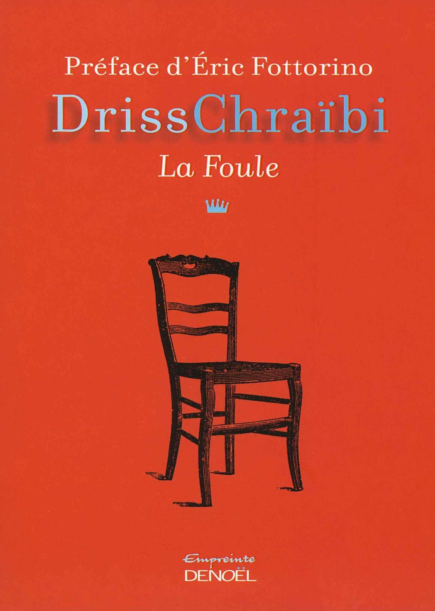 couverture du roman La Foule de Driss Chraïbi