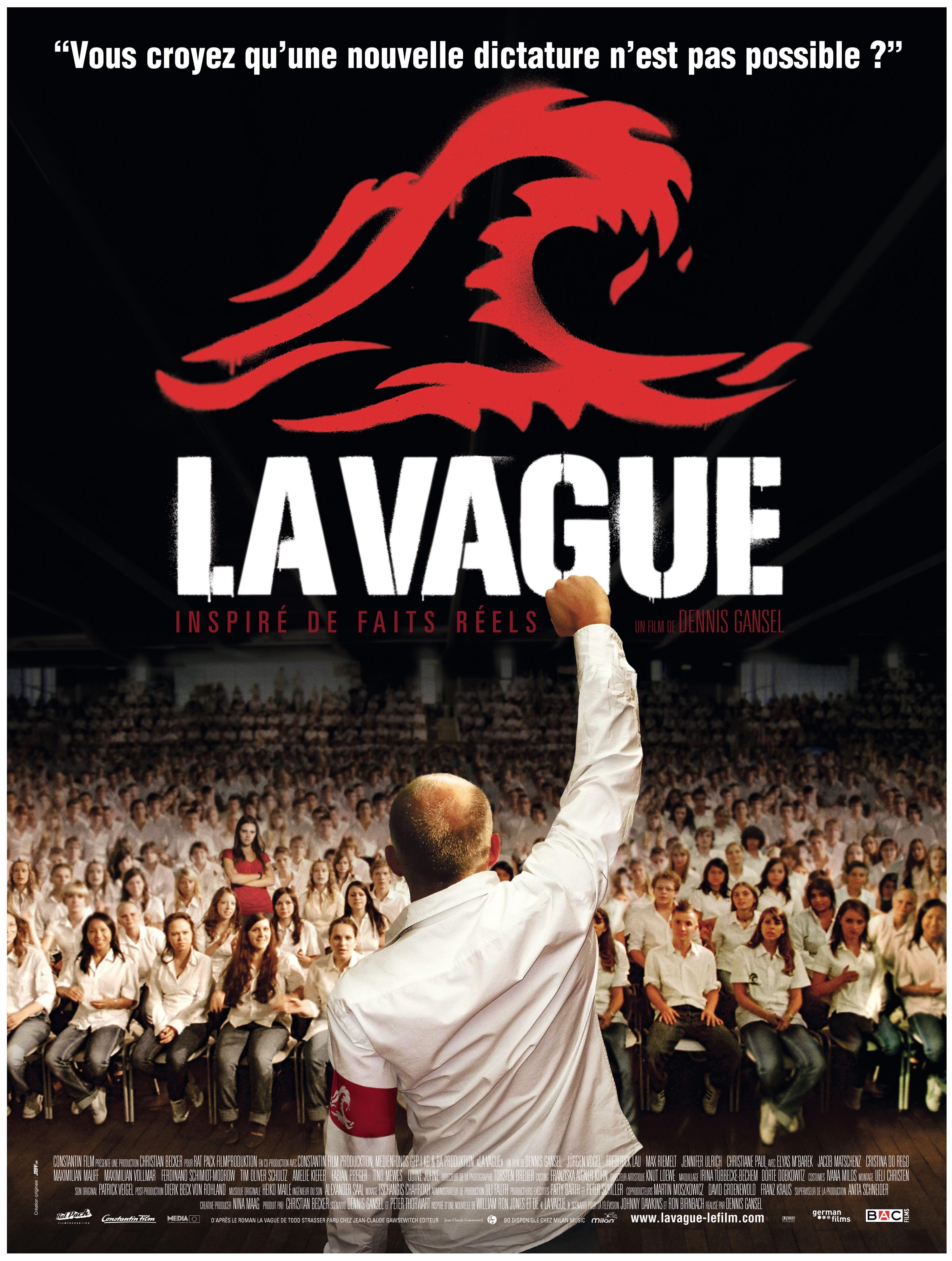 Affiche du film La Vague de Dennis Gansel