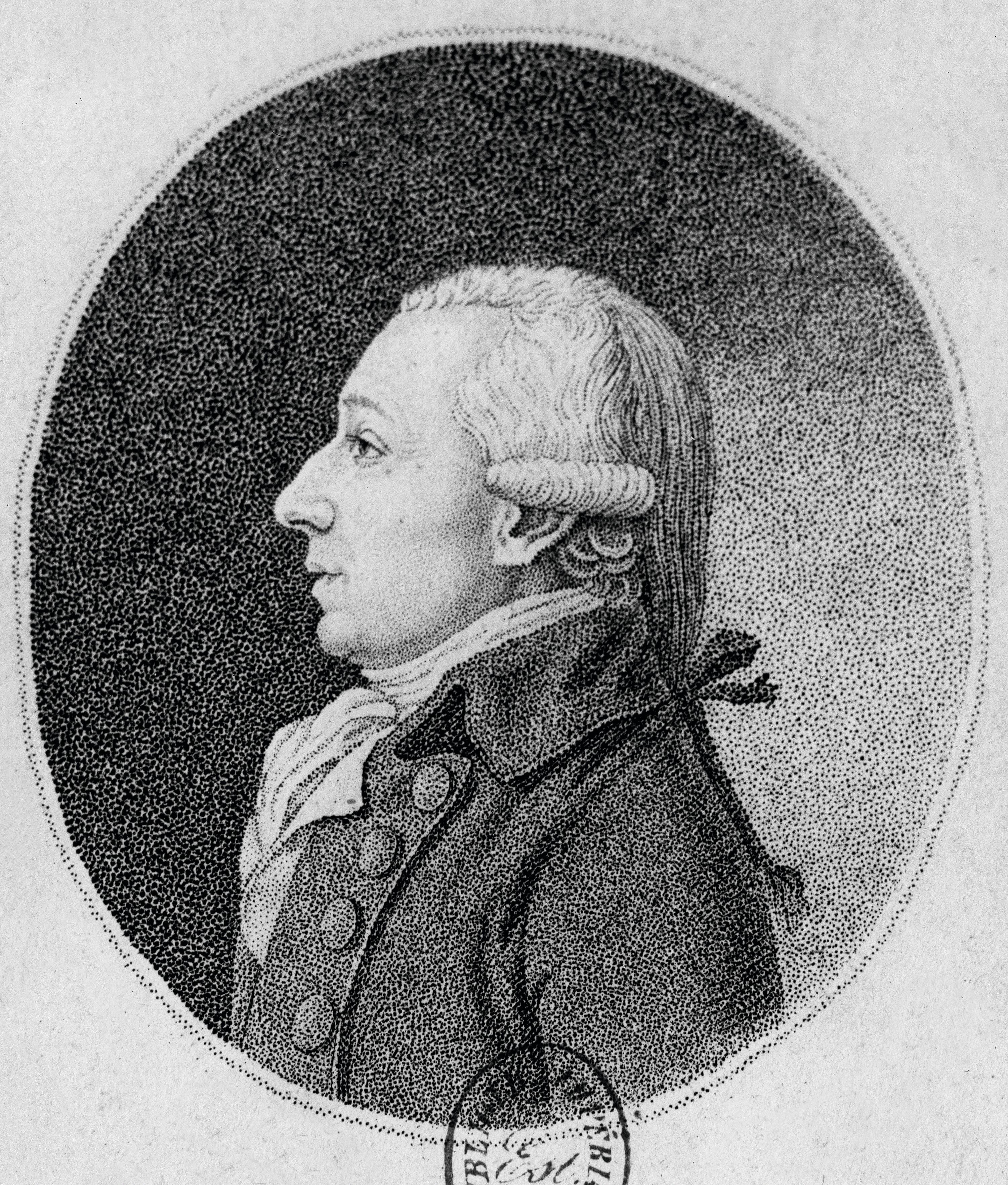 Portrait de Méchain
