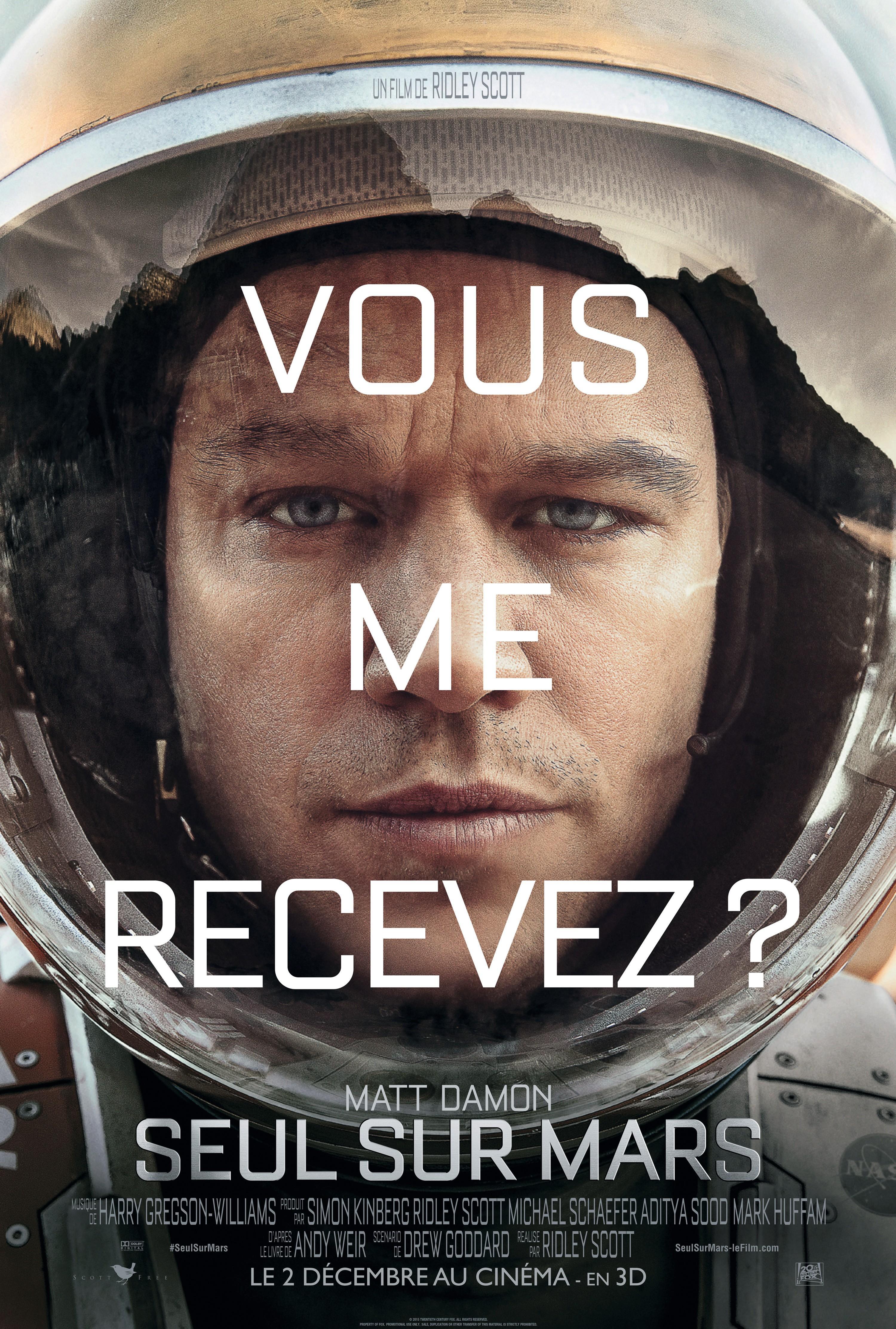 Seul sur Mars de Ridley Scott (2015)