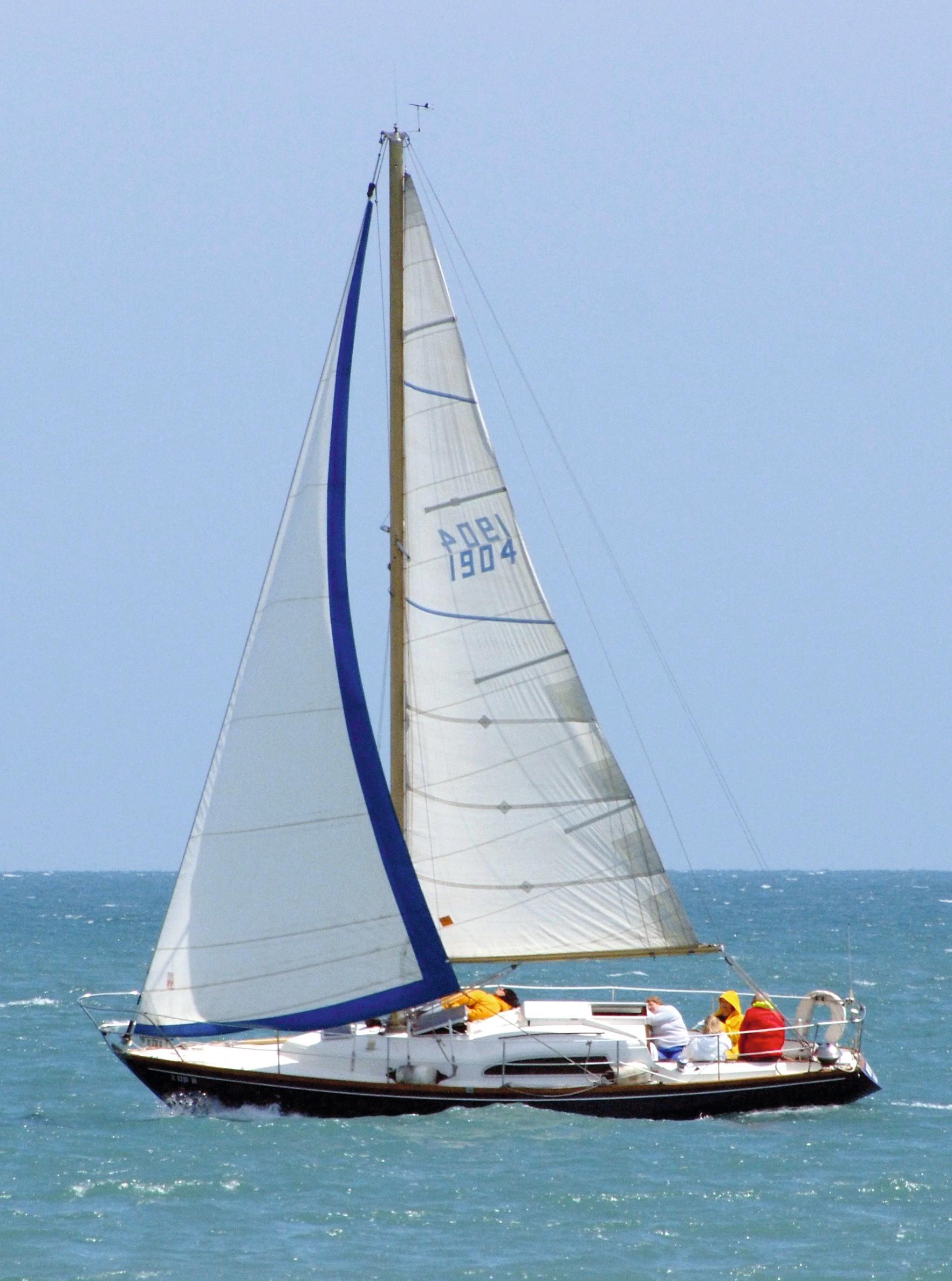 Le voilier Arpège