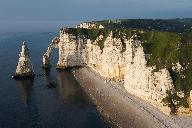 La falaise d'Étretat en Normandie