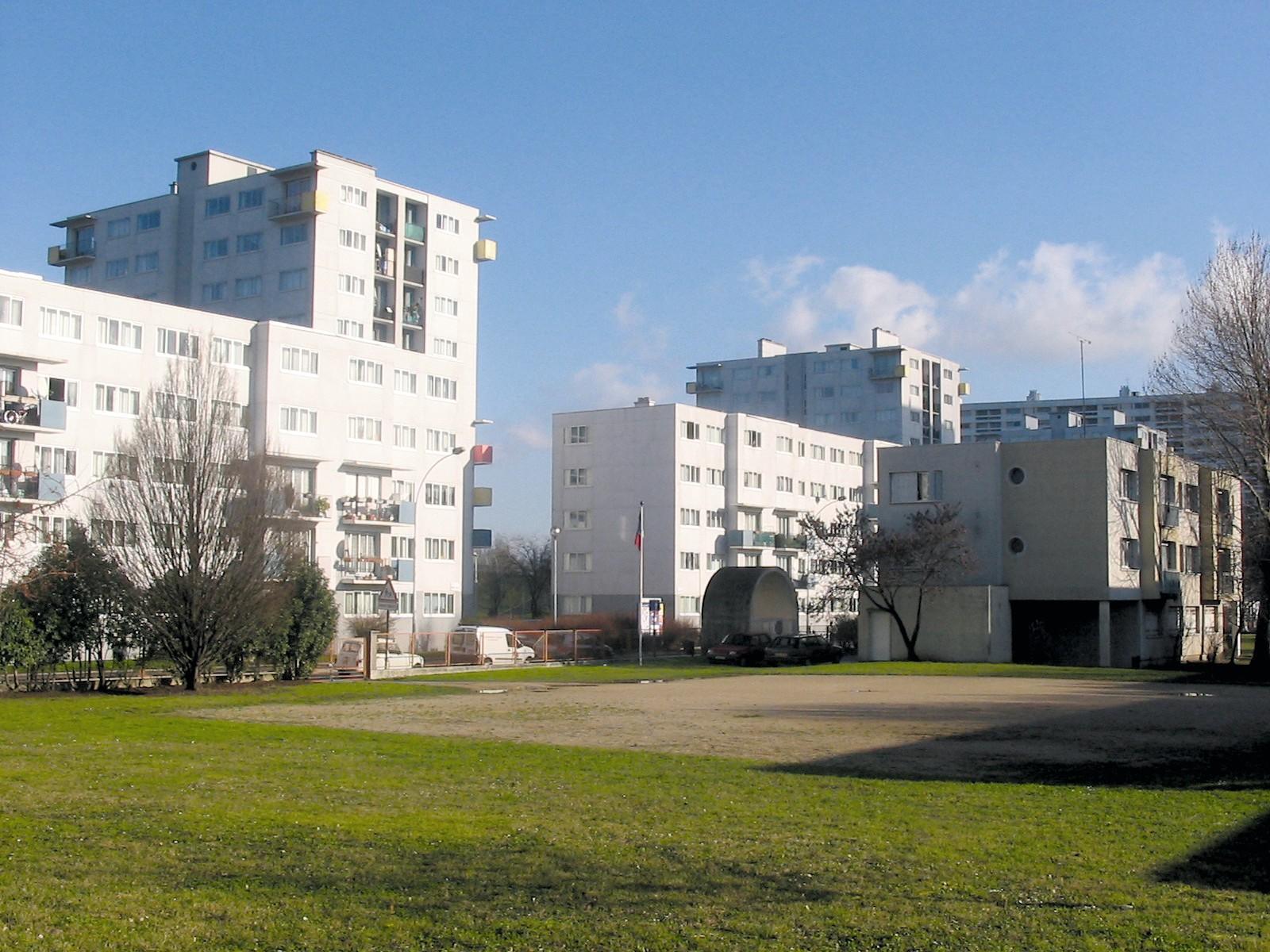 La cité des Cosmonautes à Saint Denis, 2005.