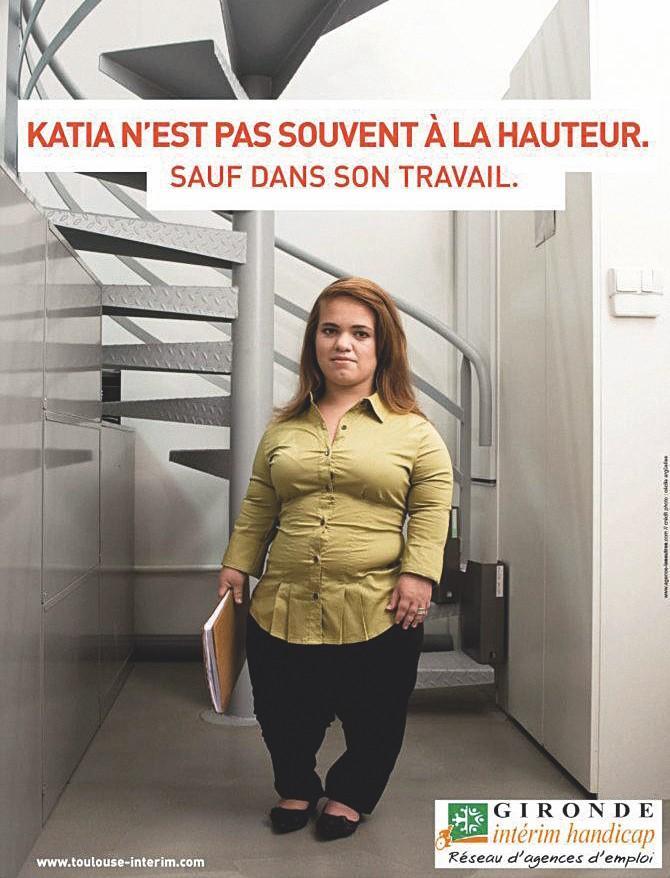affiche Sensibiliser au handicap