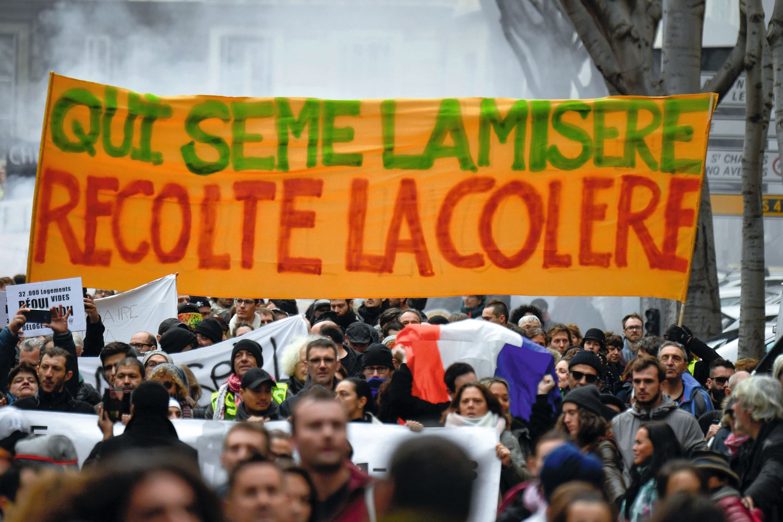 Manifestation à Marseille, novembre 2018.