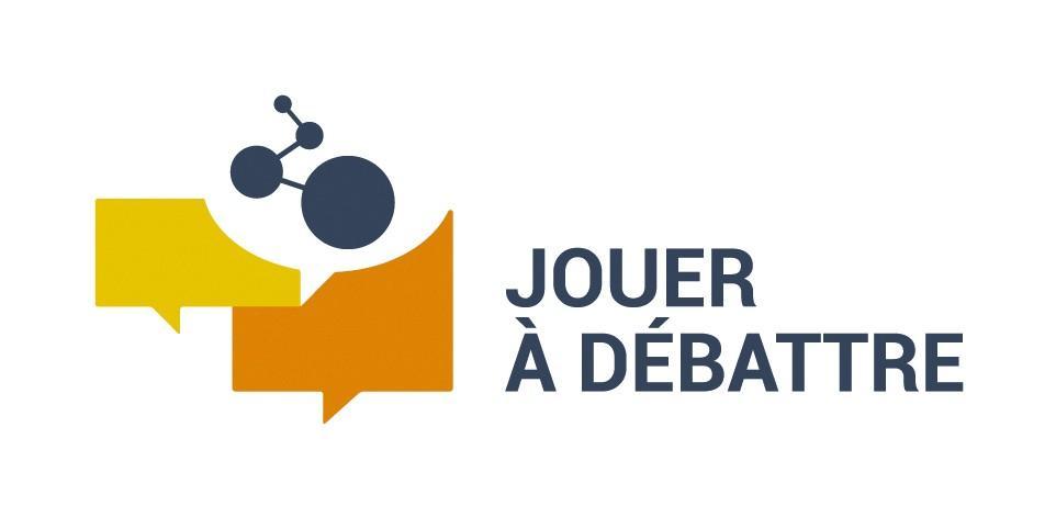 logo de l'association jouer à débattre