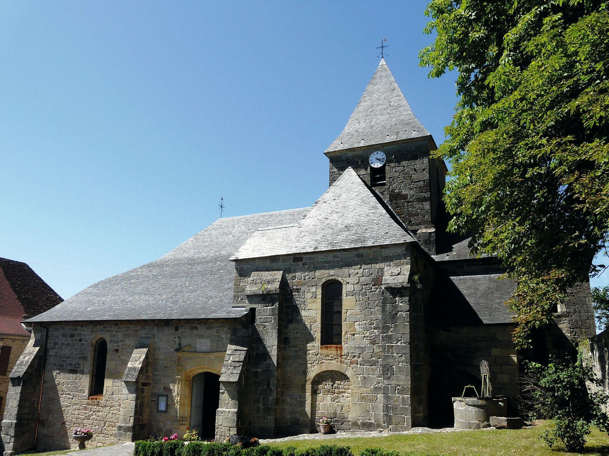Église de Badefols d'Ans, XIIe siècle