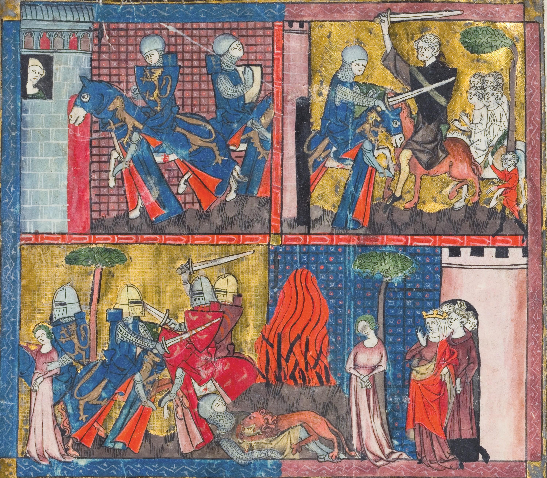 Chrétien de Troyes, Yvain ou le Chevalier au lion, manuscrit