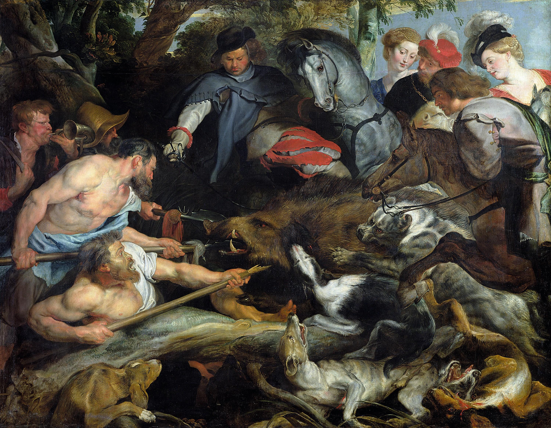 Rubens, La chasse au sanglier