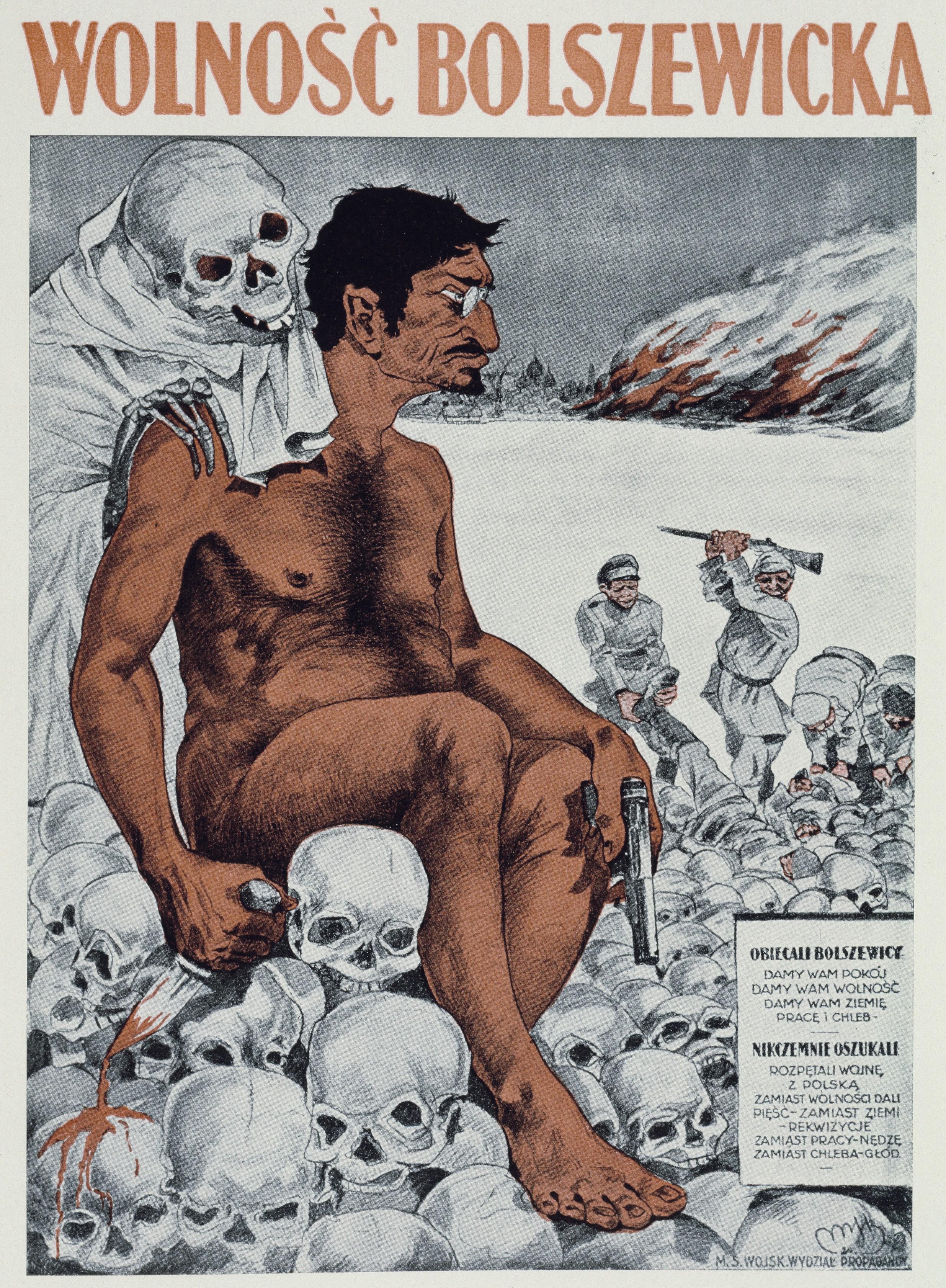 Anonyme, Liberté bolchévique, 1920, affiche
