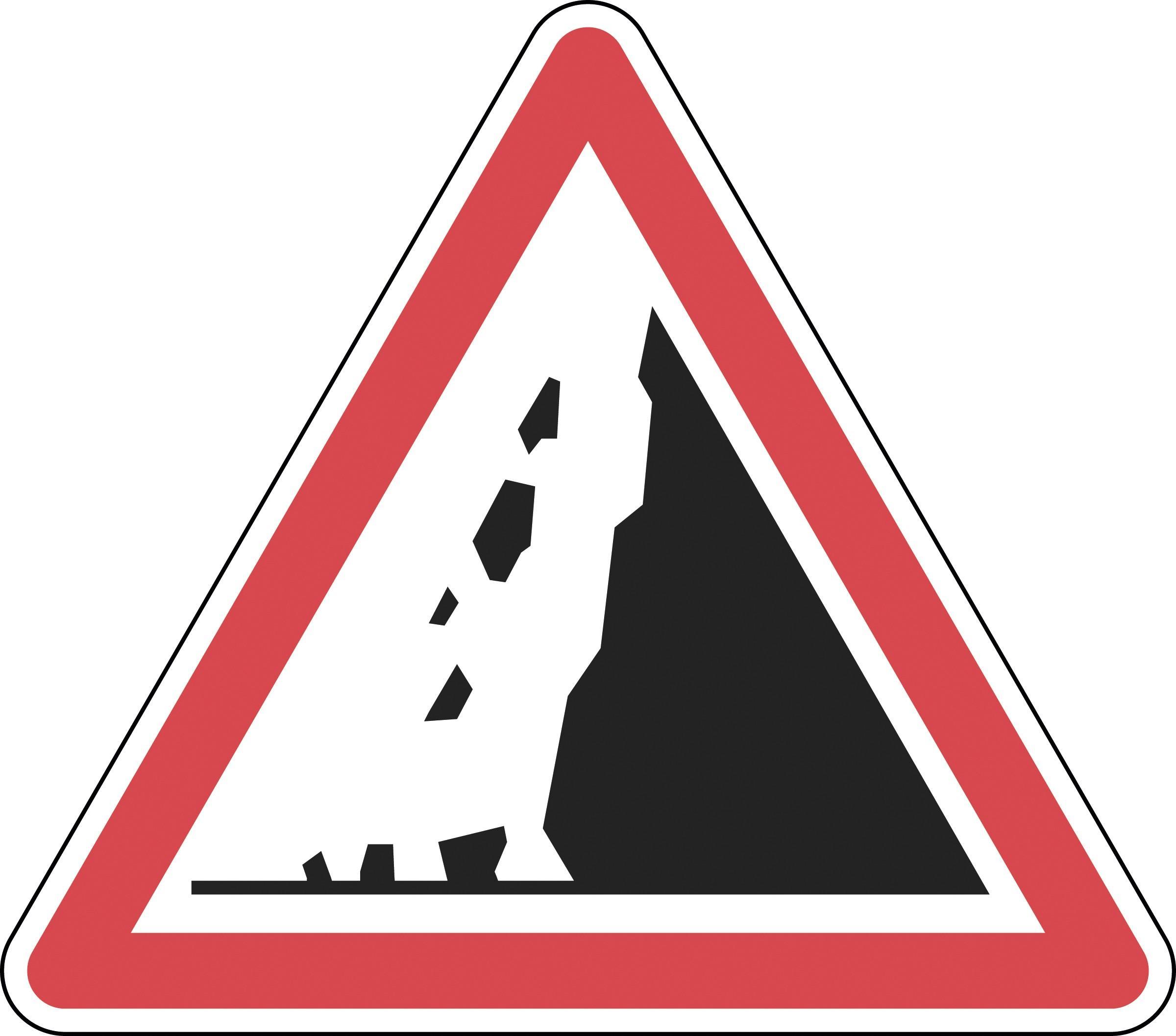 Panneau de signalisation routière.