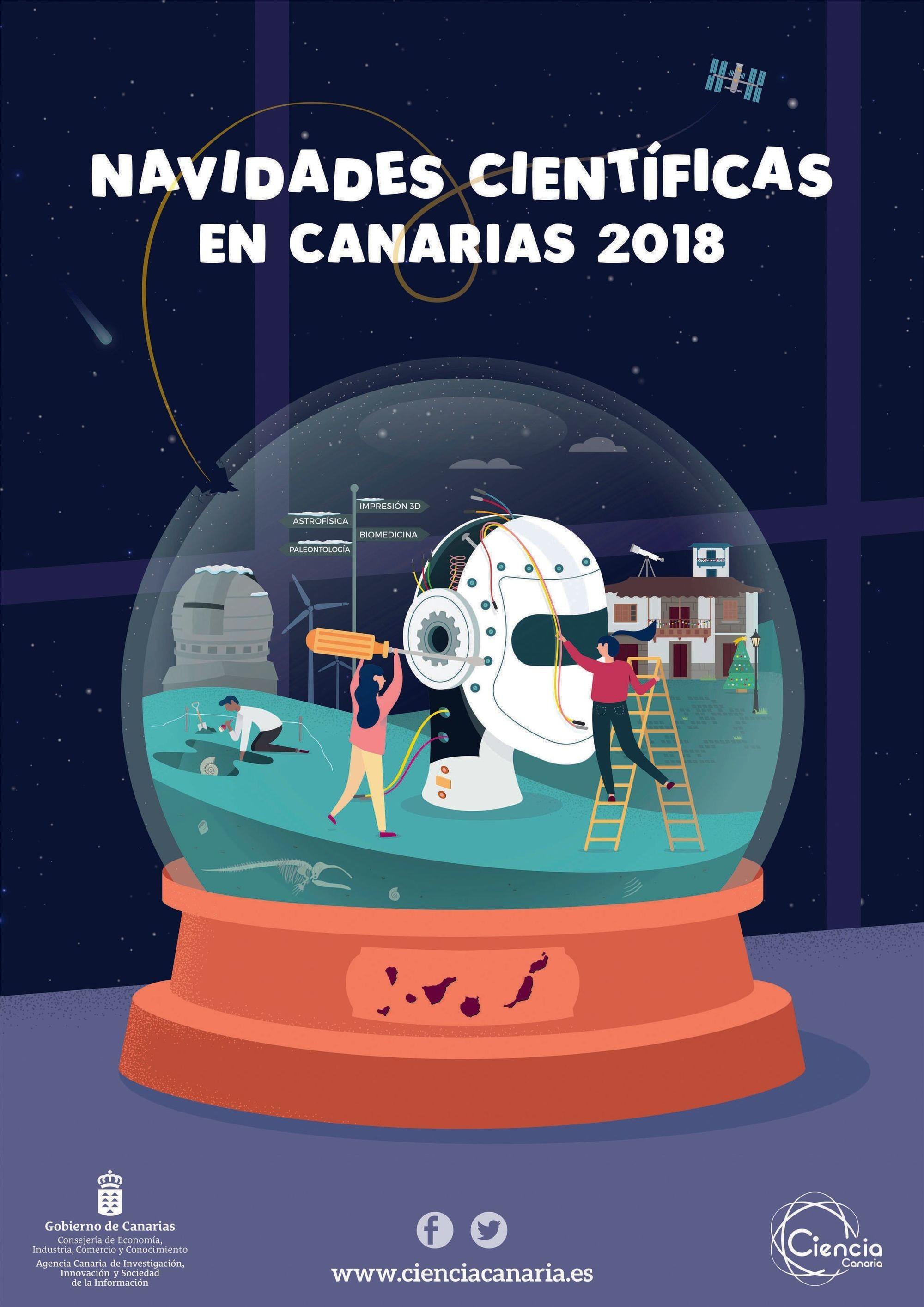 Navidades cientificas en Canarias 2018