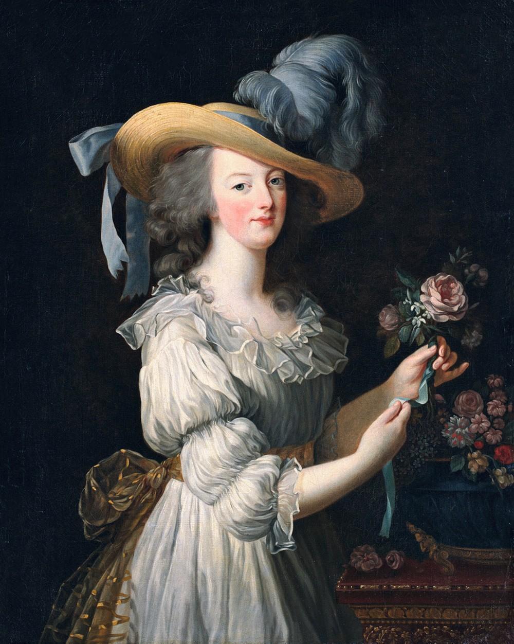 Élisabeth Vigée-Le Brun, Marie-Antoinette, 1783, huile sur toile, 92 × 73 cm, National Gallery of Art, Washington.