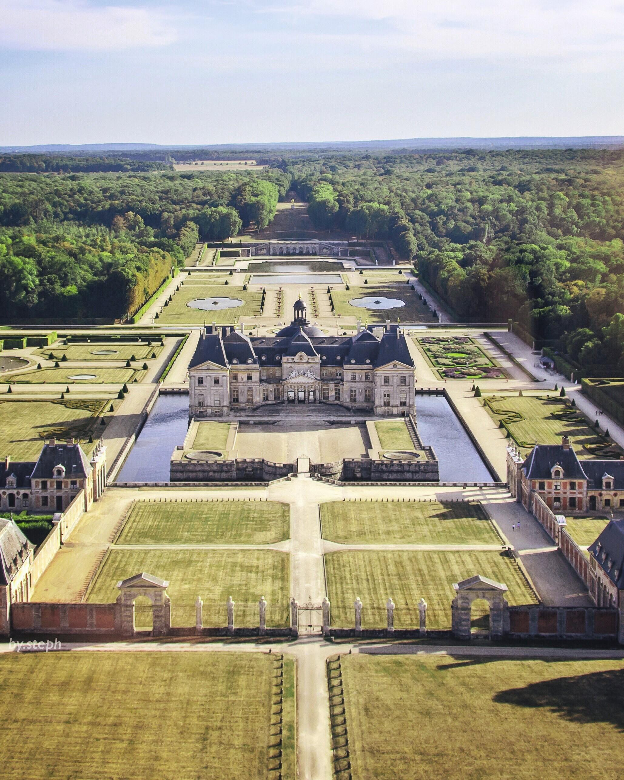 Louis le Vau (architecte), château de Vaux-le-Vicomte