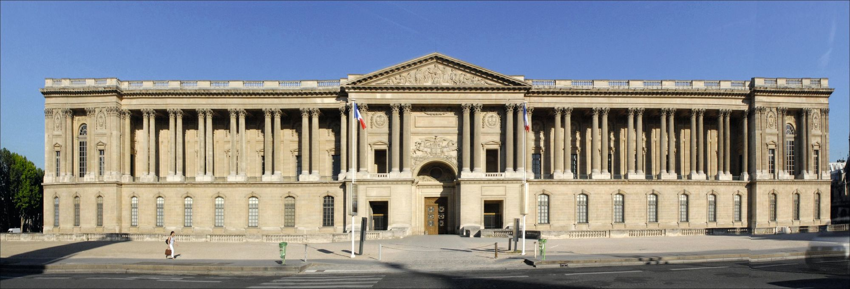 Claude Perrault, la colonnade du Louvre, édifiée entre 1667 et 1670,