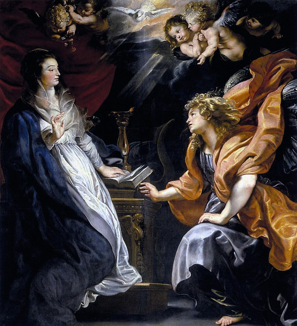 Pierre Paul Rubens, Annonciation, 1609 - 1610