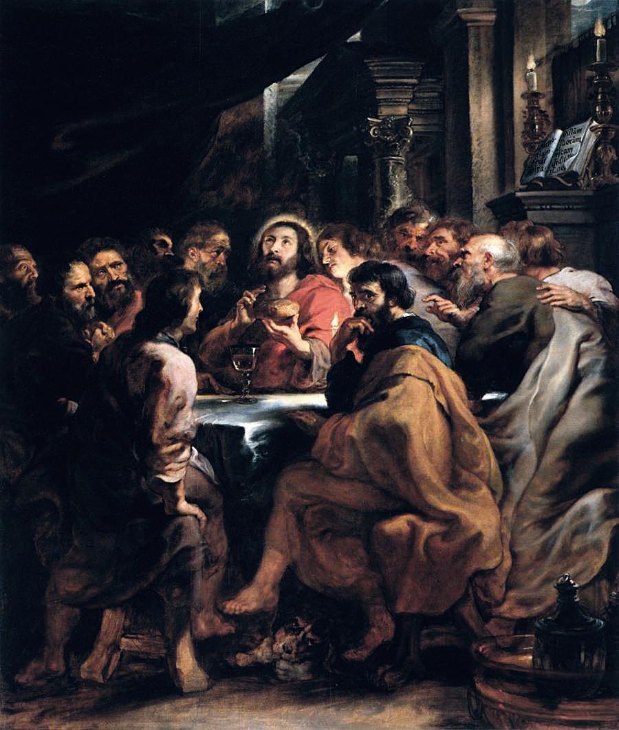 Pierre Paul Rubens, La Cène, 1631 - 1632
