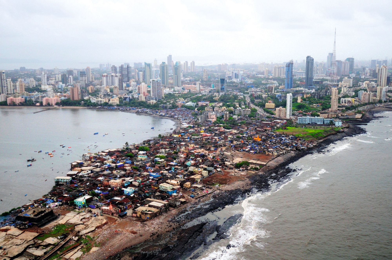 Vue du quartier de Prabhadevi, à Mumbai