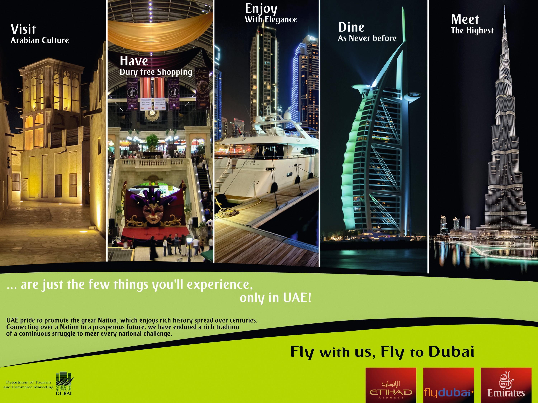 Publicité pour Dubaï